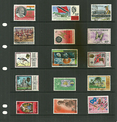 Commonwealth Trinidad& Tobago  3  stock sheets large   collection stamps