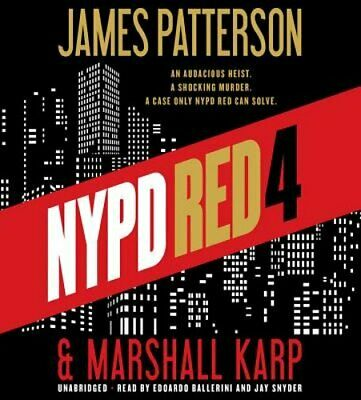 NYPD Red 4 by James Patterson: New Audiobook