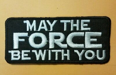Star Wars May The Force Be With You Logo patch 4 inch patch cosplay