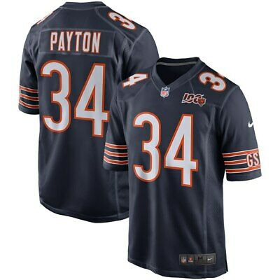34 Walter Payton Jersey Chicago Bears Football 100th Limited Edition All Colors