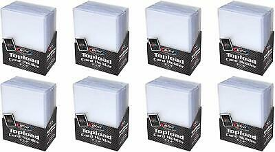 Trading Card Sleeves Hard Plastic Topload Clear Case Holder 200 Baseball Cards