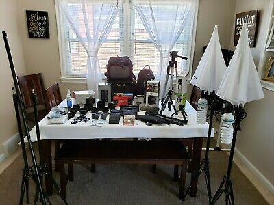 Photography, Videography, YouTuber Canon EOS Rebel T7i Camera Package Deal