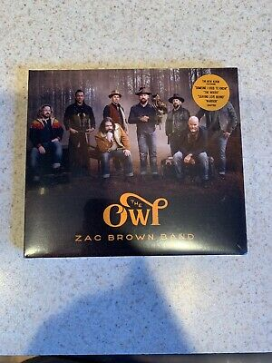 The Zac Brown Band CD - THE OWL (2019) BRAND NEW UNOPENED - COUNTRY Sealed ZBB