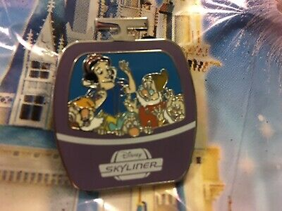 Snow White & The Seven Dwarfs Disney Skyliner Mystery Pin Limited Release