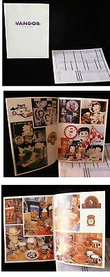 Vandor Catalog 1990s Betty Boop Cowboys & Indians And More