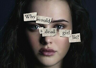 13 Reasons Why Hannah Poster 2019 A4 A3 Print Worldwide Christmas Gift