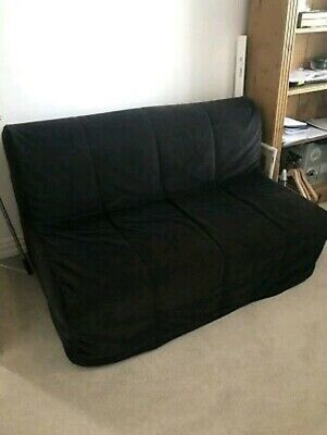 Pleasant Ikea Lycksele Double Sofa Bed In Black Exelent Condition Onthecornerstone Fun Painted Chair Ideas Images Onthecornerstoneorg