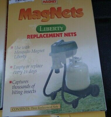 Quantity 3 Mosquito Magnet MM3200Netn Replacement Net