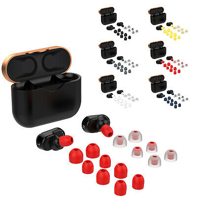 Soft Silicone Protection Ear Bud Tips Cover Pads for Sony WF-1000XM3 Earphone