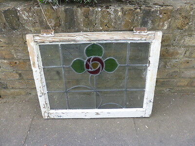Antique Edwardian stained glass window (no 3)