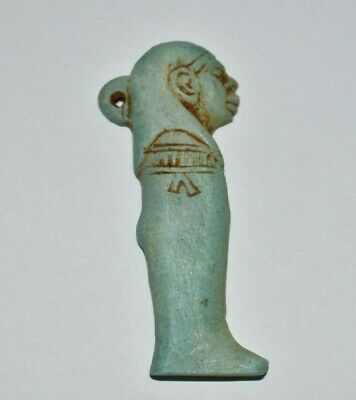 ANCIENT EGYPT ANTIQUE Egyptian stone son of Horus Imsety amulet