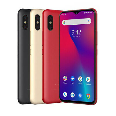 UMIDIGI F1 Android 9.0 4GB 128GB Smartphone ohne Vertrag Handy 6.3Zoll Globale