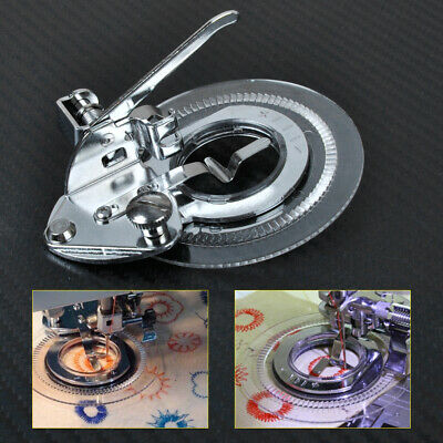 Fit For Low Shank Sewing Janome Brother Singer Flower Circle Stitch Presser Foot