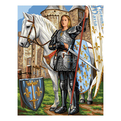 Royal Paris Tapestry Printed Canvas Saint Joan of Arc | 98801420553
