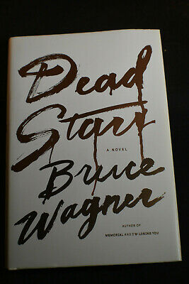 *FIRST PRINTING* Dead Stars by Bruce Wagner HCDJ