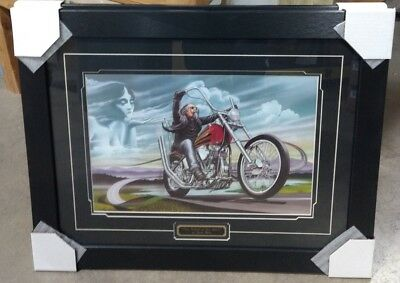 Motorcycle/Harley Framed Artwork David Mann