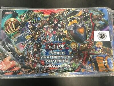 Yugioh! Regional WCQ 2017 Zoodiac Monsters Playmat