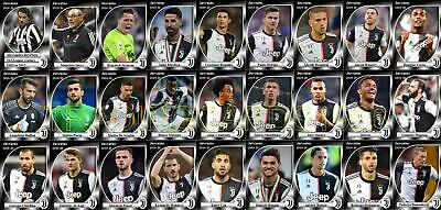 Juventus Football Squad Trading Cards 2019-20