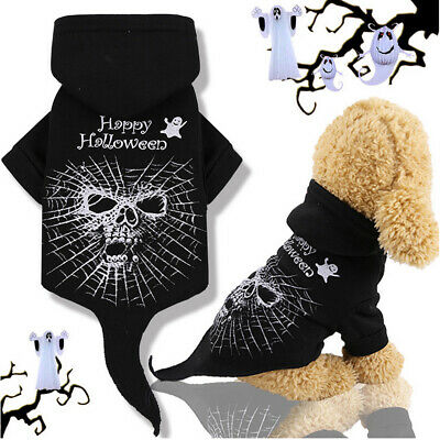 Pet Halloween Funny Costume Horror Cobweb For Dog Cat Puppy Party Clothes UK