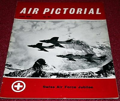 Air Pictorial Magazine 1964 July Swiss Air Force,Bristol Bombay,Jodel