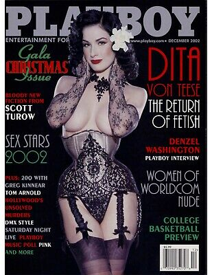 Playboy USA - *Dita Von Teese* December 2002 PDF