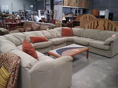 Miraculous Henredon Sectional Sofa 3 Piece Down Filled With Matching Machost Co Dining Chair Design Ideas Machostcouk