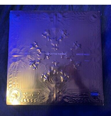 Jay Z* & Kanye West - Watch The Throne Sealed Picture Disc Vinyl
