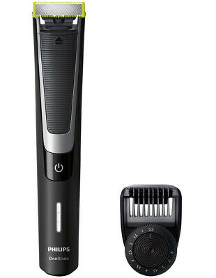Philips One Blade Pro Handle with Adjustable Comb Black QP6510/20