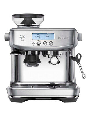 Breville the Barista Pro Coffee Machine: Brushed Stainless Steel BES878BSS