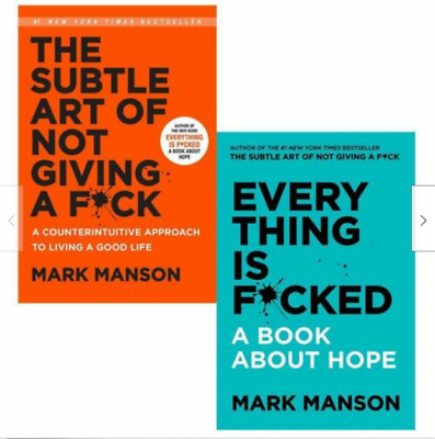 P.D.F Mark Manson {Everything Is F*cked, The Subtle Art of Not)