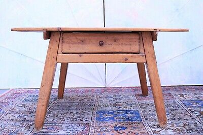 Antique Table Valley/Wonderful Colour Light Natural/Period Beginning '800