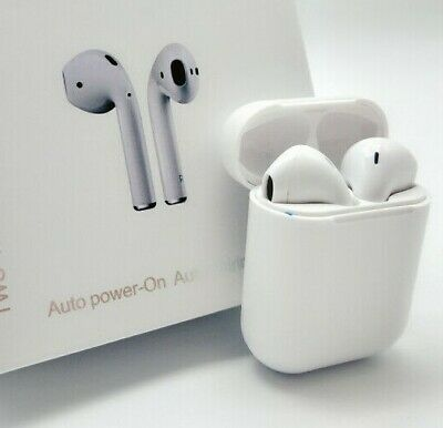 i12 TWS Wireless Bluetooth Air Pods Earphones Touch Control Stereo Ear Buds