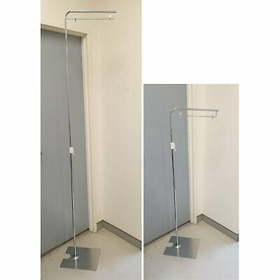 5 x Standing Metal Sign Stand with Telescopic Pole and Sign Holder Clips