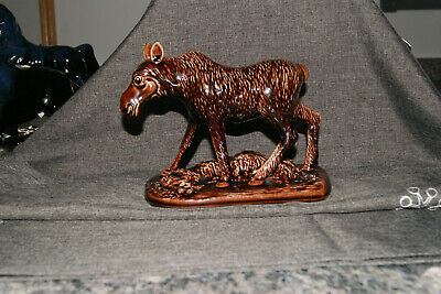BLUE MOUNTAIN POTTERY   Brown female Moose