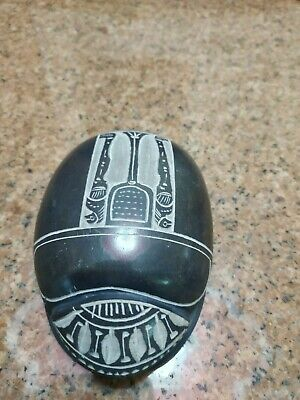 RARE ANCIENT EGYPTIAN ANTIQUE Scarab Carved Granite  For decoration
