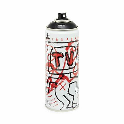 Montana Colors Keith Haring TV limited edition bombola spray paint can