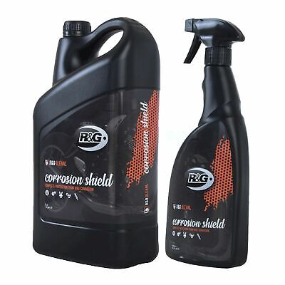 R&G Gleam Motorcycle Anti-Corrosion Protection Spray - 750ml Trigger + 5L Refill