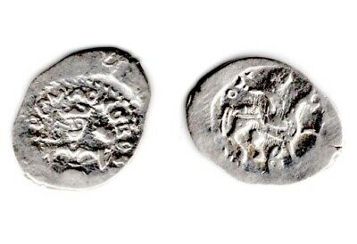 "Russian XVth c. Silver Coin. Ivan III Denga MOSCOW ""DOZOR"". 1462-1505. Condition"