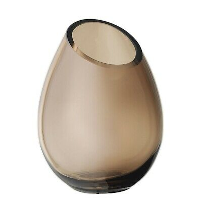 Drop Vase 16.5 cm Coffee Blomus