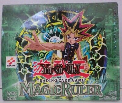 Yugioh Magic Ruler 1St Edition English Booster Box-24 Pack Sealed New