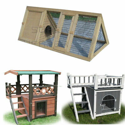 Small Pet House Rabbit Hutch Chicken Coop Guinea Pig Ferret Cage
