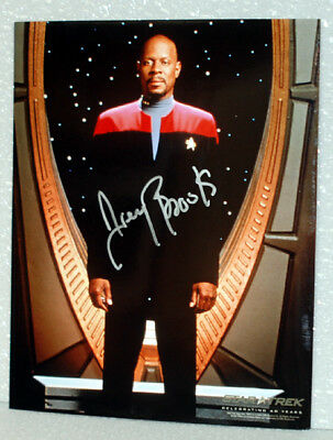 Avery Brooks STAR TREK DEEP SPACE 9 AUTOGRAPH