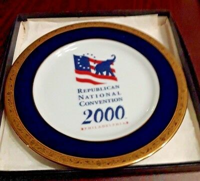 Nice Vintage 2000 Republican National Convention Limited Edition Plate