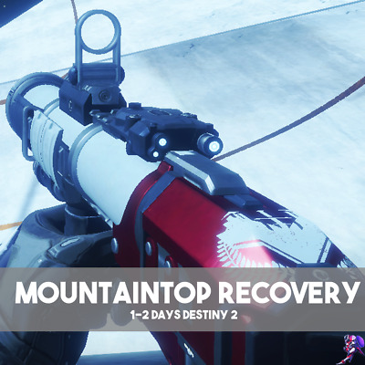 Destiny 2 Mountain Top Recovery Full Quest (PC,XBOX,PS4)