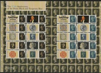 GB 2015 Smilers Penny Black anniversary SGLS94 sheet stamps unmounted mint MNH