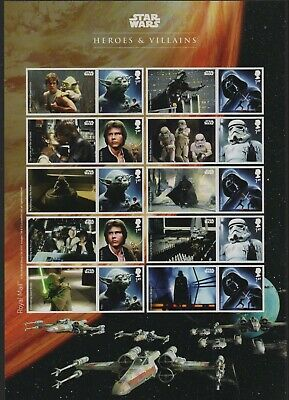 GB 2015 Smilers Star Wars SGLS96 sheet stamps unmounted mint MNH