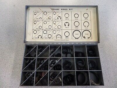 Hpc Tru Arc Ring Kit Assorted Sizes And Types Metal Case Used