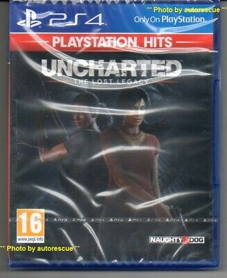 Uncharted The Lost Legacy 'New & Sealed'  *PS4(Four)*