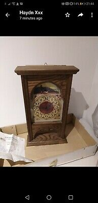 Old Wooden Clock with original receipt and box