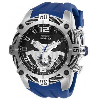 Invicta Bolt 27372 Men's 52mm Cable Weave Blue G10 Swiss Chronograph Watch
